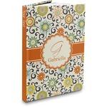 Swirls & Floral Hardbound Journal (Personalized)