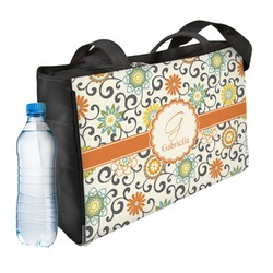 Swirls & Floral Ladies Workout Bag (Personalized)