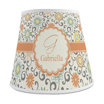 Swirls & Floral Empire Lamp Shade (Personalized)