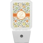 Swirls & Floral Night Light (Personalized)
