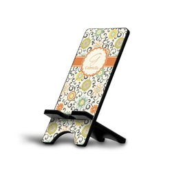 Swirls & Floral Phone Stand (Personalized)