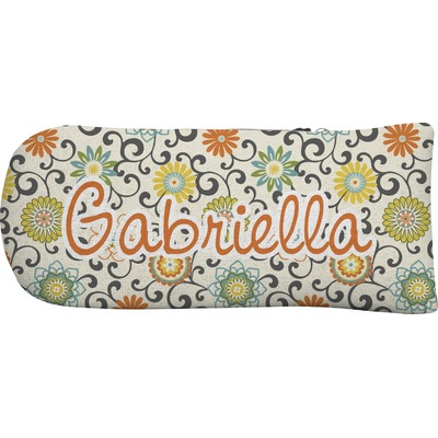 Swirls & Floral Putter Cover (Personalized)