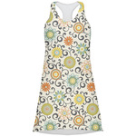 Swirls & Floral Racerback Dress (Personalized)