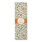 Swirls & Floral Runner Rug - 3.66'x8' (Personalized)