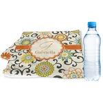 Swirls & Floral Sports & Fitness Towel (Personalized)