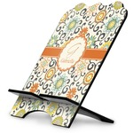 Swirls & Floral Stylized Tablet Stand (Personalized)