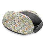 Swirls & Floral Travel Neck Pillow