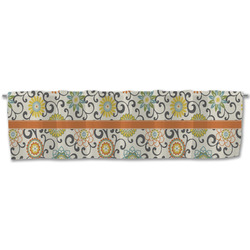 Swirls & Floral Valance (Personalized)