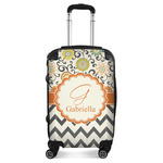 Swirls, Floral & Chevron Suitcase (Personalized)