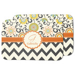 Swirls, Floral & Chevron Dish Drying Mat (Personalized)