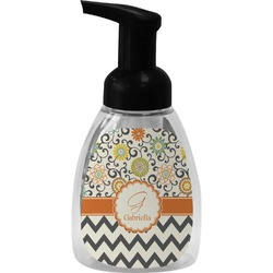 Swirls, Floral & Chevron Foam Soap Dispenser (Personalized)