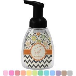Swirls, Floral & Chevron Foam Soap Dispenser (Personalized)