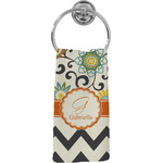 Swirls, Floral & Chevron Hand Towel - Full Print (Personalized)