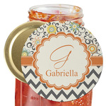 Swirls, Floral & Chevron Jar Opener (Personalized)