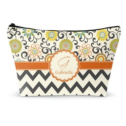 Swirls, Floral & Chevron Makeup Bags (Personalized)
