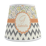 Swirls, Floral & Chevron Empire Lamp Shade (Personalized)