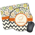 Swirls, Floral & Chevron Mouse Pads (Personalized)