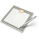 Swirls, Floral & Chevron Notepad (Personalized)