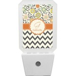 Swirls, Floral & Chevron Night Light (Personalized)