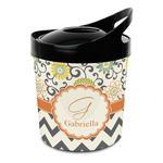 Swirls, Floral & Chevron Plastic Ice Bucket (Personalized)