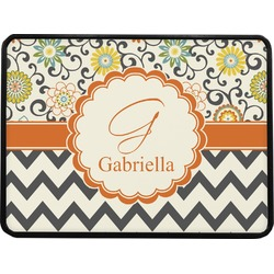 Swirls, Floral & Chevron Rectangular Trailer Hitch Cover (Personalized)