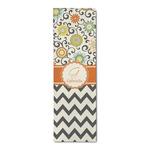 Swirls, Floral & Chevron Runner Rug - 3.66'x8' (Personalized)