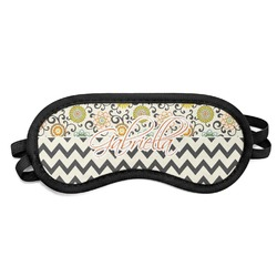 Swirls, Floral & Chevron Sleeping Eye Mask (Personalized)