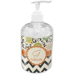 Swirls, Floral & Chevron Soap / Lotion Dispenser (Personalized)