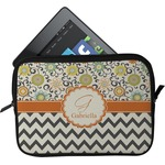 Swirls, Floral & Chevron Tablet Case / Sleeve (Personalized)