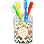 Swirls, Floral & Chevron Toothbrush Holder (Personalized)