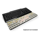 Swirls, Floral & Chevron Keyboard Wrist Rest (Personalized)