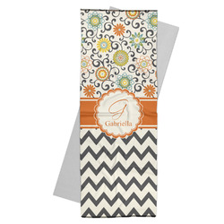 Swirls, Floral & Chevron Yoga Mat Towel (Personalized)