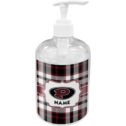 Pearland Oilers Plaid Soap / Lotion Dispenser (Personalized)