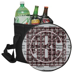 Pearland Oilers Plaid Collapsible Cooler & Seat (Personalized)