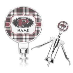 Pearland Oilers Plaid Corkscrew (Personalized)
