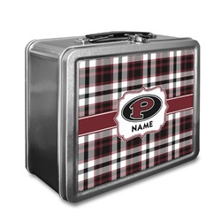 Pearland Oilers Plaid Lunch Box (Personalized)