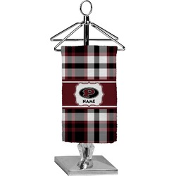Pearland Oilers Plaid Finger Tip Towel - Full Print (Personalized)