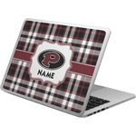 Pearland Oilers Plaid Laptop Skin - Custom Sized (Personalized)