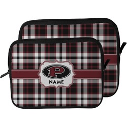 Pearland Oilers Plaid Laptop Sleeve / Case (Personalized)