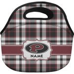 Pearland Oilers Plaid Lunch Bag (Personalized)
