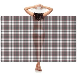 Pearland Oilers Plaid Sheer Sarong (Personalized)