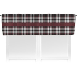 Pearland Oilers Plaid Valance (Personalized)