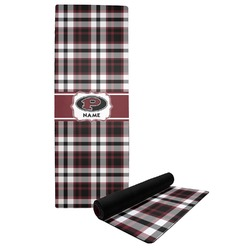Pearland Oilers Plaid Yoga Mat (Personalized)