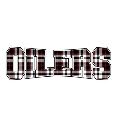 Pearland Oilers in Plaid