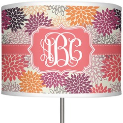 "Mums Flower 13"" Drum Lamp Shade (Personalized)"