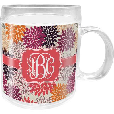Mums Flower Acrylic Kids Mug (Personalized)
