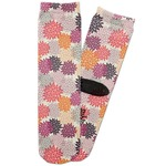 Mums Flower Adult Crew Socks (Personalized)