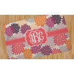 Mums Flower Area Rug (Personalized)