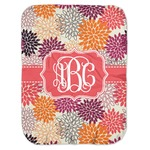 Mums Flower Baby Swaddling Blanket (Personalized)