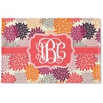 Mums Flower Woven Mat (Personalized)